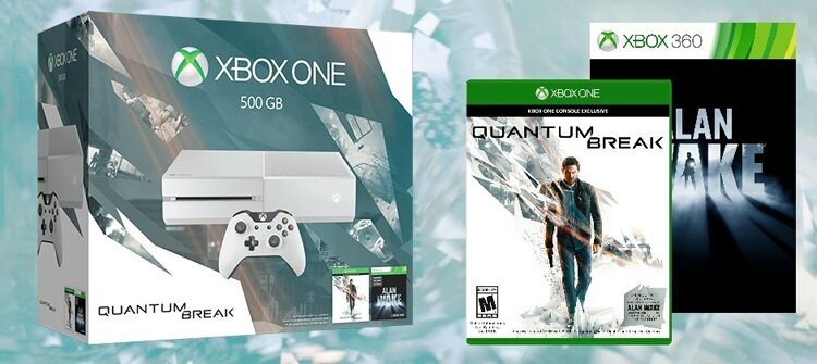 Microsoft представила комплект Xbox One Quantum Break""